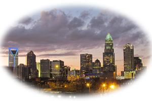 Charlotte NOrht Carolina Skyline